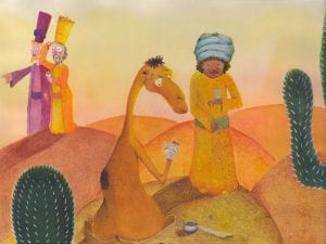 'El camello cojito'   Gloria Fuertes   Ilustración Maria Grandola Marín de Ahumada   El balcón de Gloria Fuertes