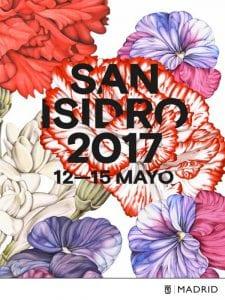 Fiestas de San Isidro 2017 | 12 al 15 de mayo de 2017 | Madrid | Cartel