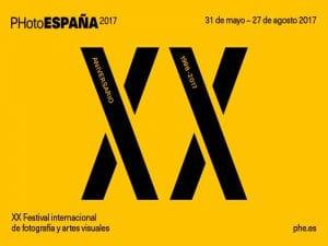PHotoEspaña 2017 | Festival Internacional de Fotografía y Artes Visuales | 20 aniversario | 31/05 - 27/08/2017 | Cartel
