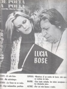 De poeta a poeta   Escribe Gloria Fuertes   Lucía Bosé   Hacia 1980
