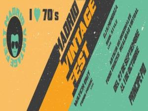 Madrid Vintage Fest | La vuelta a los 70's | 21/09-01/10/2017 | Centro Comercial Príncipe Pío | Paseo de la Florida 2 | Moncloa-Aravaca | Madrid | Cartel