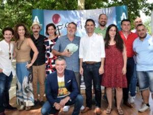 Ferias de Alcalá de Henares 2017 | 26/08 - 03/09/2017 | Alcalá de Henares | Comunidad de Madrid | Alcalde y artistas en la presentación