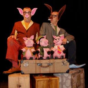 Festival de Verano del Teatro de Títeres de El Retiro | 11/08 al 17/09/2017 | Madrid | 'Los tres cerditos o cuatro' - Teatro de la Luna