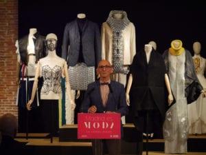 Madrid es Moda 2017   Centro Cultural Conde Duque   08-26/09/2017   Madrid   El diseñador Modesto Lomba en la presentación