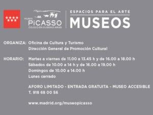Programa educativo del Museo Picasso-Colección Eugenio Arias | Buitrago del Lozoya | Comunidad de Madrid | Oficina de Cultura y Turismo | Dirección General de Promoción Cultural