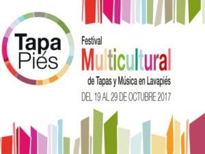 Tapapiés 2017   7ª Ruta Multicultural Tapas y Música en Lavapiés   19-29/10/2017   Lavapiés   Madrid