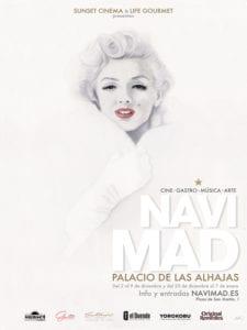 NaviMad 2017 | Cine, gastronomía y más en el centro de Madrid | Palacio de las Alhajas | Centro | Madrid | Cartel