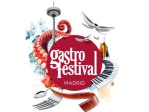 Gastrofestival 2018   Madrid para comérselo   Ayuntamiento de Madrid y Madrid Fusión   Del 20/01 al 04/02/2018   Madrid   Logo