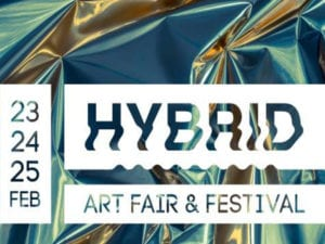 Madrid Capital del Arte | Semana del Arte de Madrid | Hybrid Art Fair & Festival | Cartel 2018