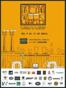 Artesana Week Lavapiés 2018 | Barrio de Lavapiés | Madrid | Del 09 al 15/04/2018 | Cartel
