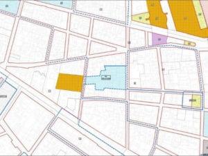 Nuevo complejo dotacional   Costanilla de los Desamparados   Barrio de las Letras   Centro - Cortes   Madrid   Plano