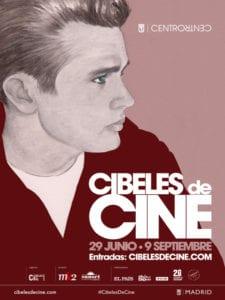 5ª Cibeles de Cine | CentroCentro | Galería de Cristal del Palacio de Cibeles | 29/06-09/09/2018 | Madrid | Cartel Borja Bonafuente