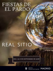Fiestas de El Pardo 2018 | Real Sitio | Fuencarral - El Pardo | Madrid | 01-09/09/2018 | Cartel