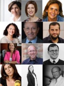 10º Foro de Industrias Culturales   'Modelos de gobernanza de la cultura'   22/11/2018   Sala Ernest Lluch   Congreso de los Diputados   Madrid   Participantes en las 2 mesas redondas