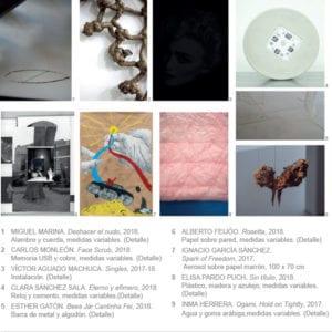 Circuitos de Artes Plásticas 2018 | Sala de Arte Joven Comunidad de Madrid | 15/11/2018-13/01/2019 | Chamartín | Madrid | Mosaico