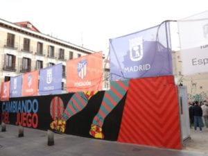 Fútbol social en Lavapiés | Ayuntamiento de Madrid | Fundación Atlético de Madrid | Dragones de Lavapiés | Cambiando del juego
