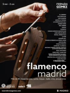 Flamenco Madrid 2019 | 05/05-02/06/2019 | Teatro Fernán Gómez - Centro Cultural de la Villa | Madrid | Cartel 1