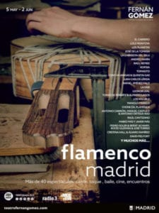Flamenco Madrid 2019 | 05/05-02/06/2019 | Teatro Fernán Gómez - Centro Cultural de la Villa | Madrid | Cartel 2