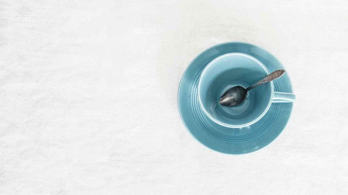 Vaciar la taza