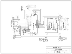 Mother Board for 9850 DDS Modules