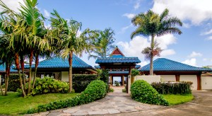 Entrance to the courtyard at ponohouse
