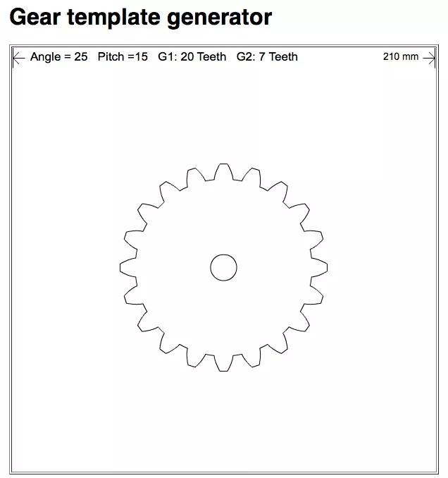 Gear Program Free Generator Template