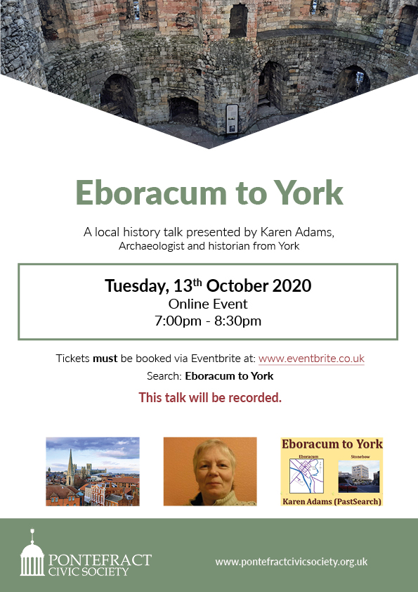Eboracum to York poster.