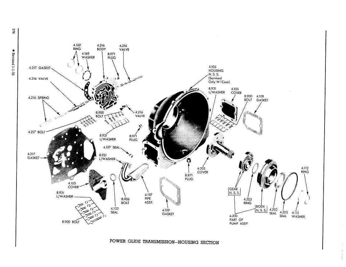 4l80e Reverse Servo Parts Diagram
