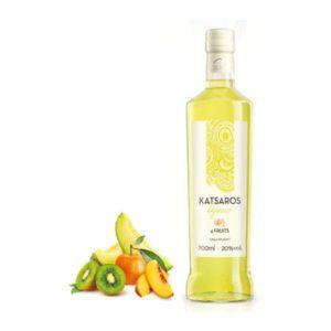 Katsaros vier vruchten likeur Pontiki