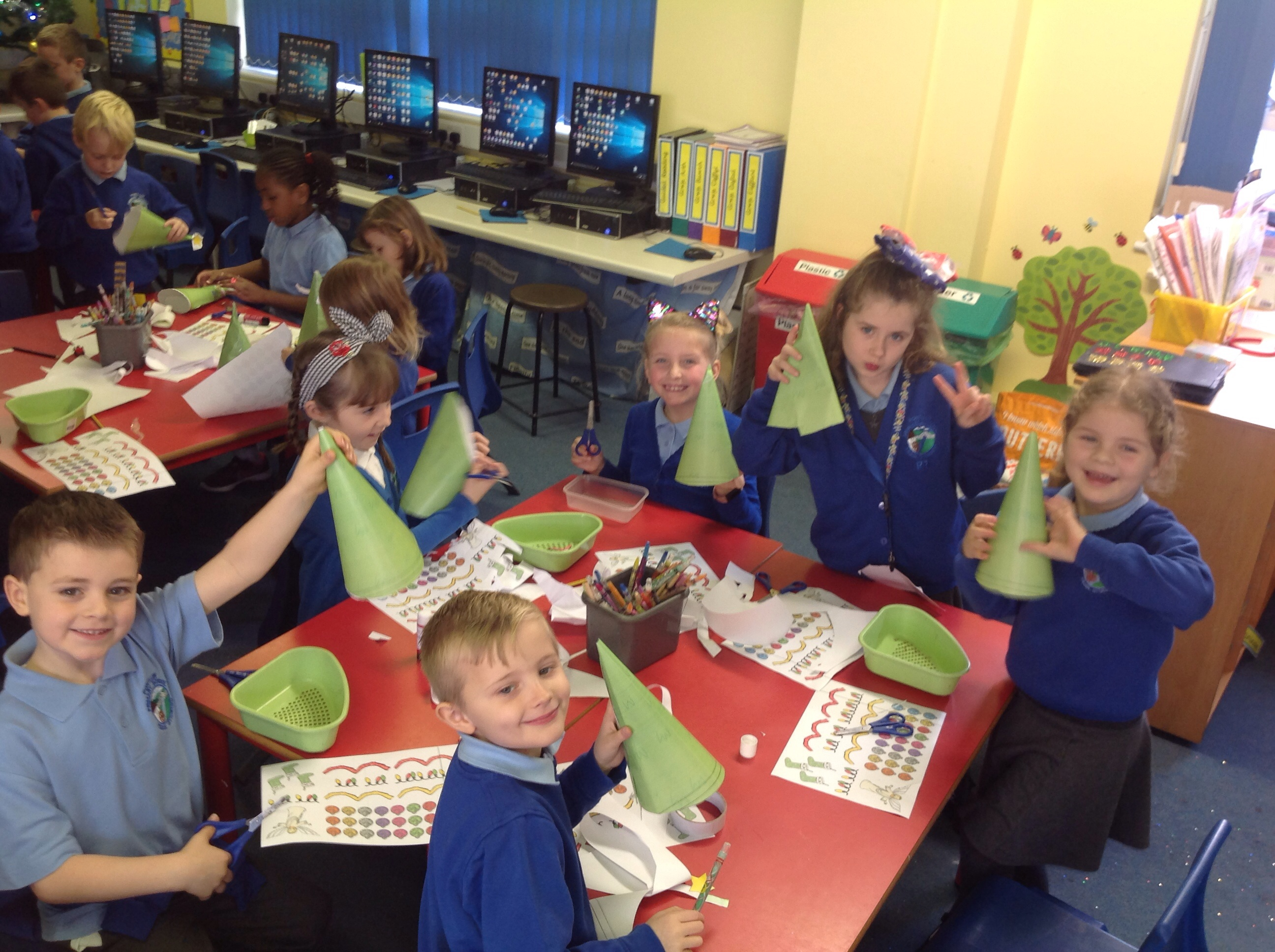 Fir Tree Fine Motor Skills in Year 2