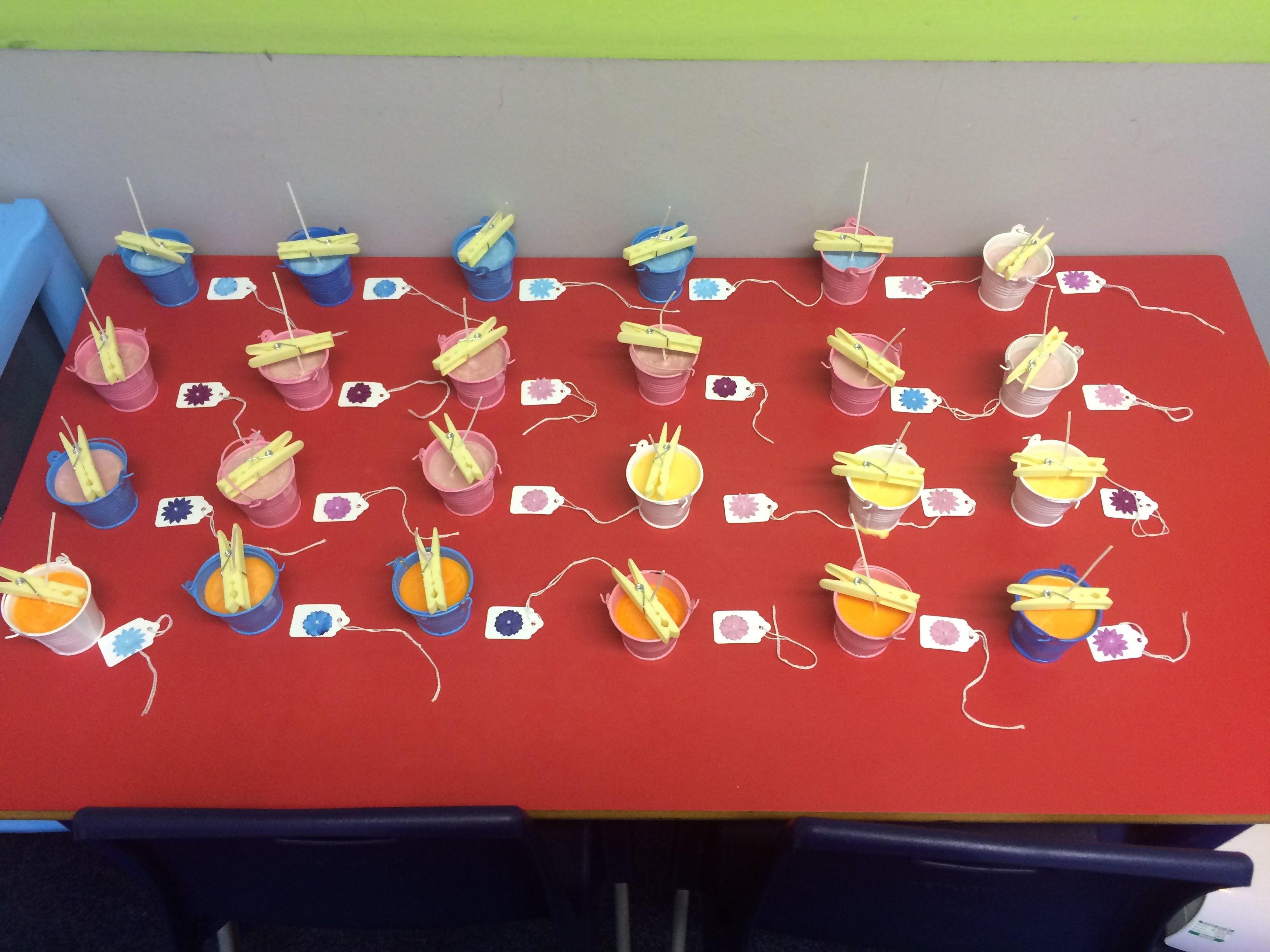 Year 3 Candle Creations