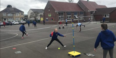 Tennis skills are a hit!