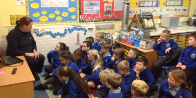 P.C. Parry Visits Year 2