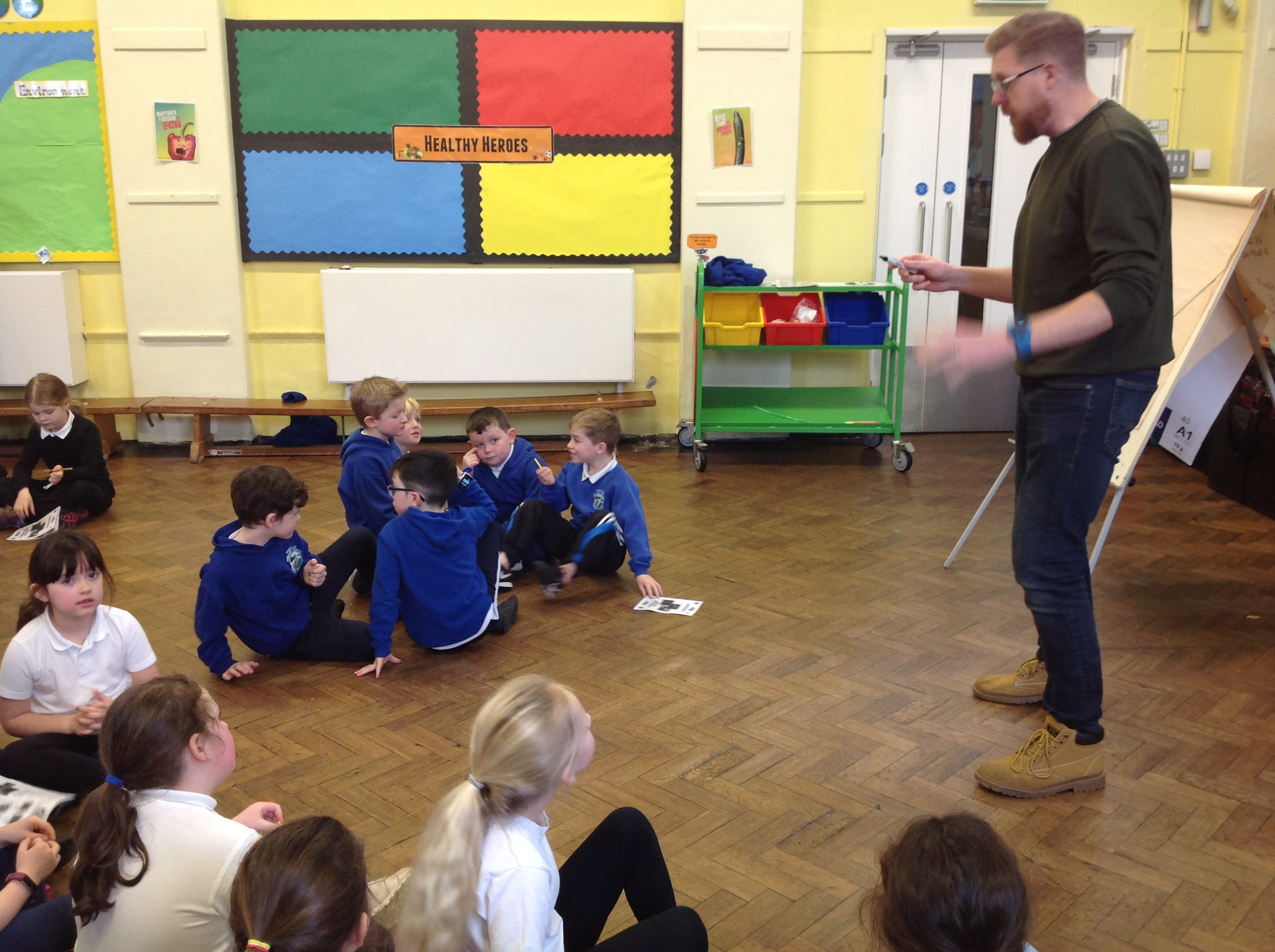 Year 2 Welsh Music and Fitness Session