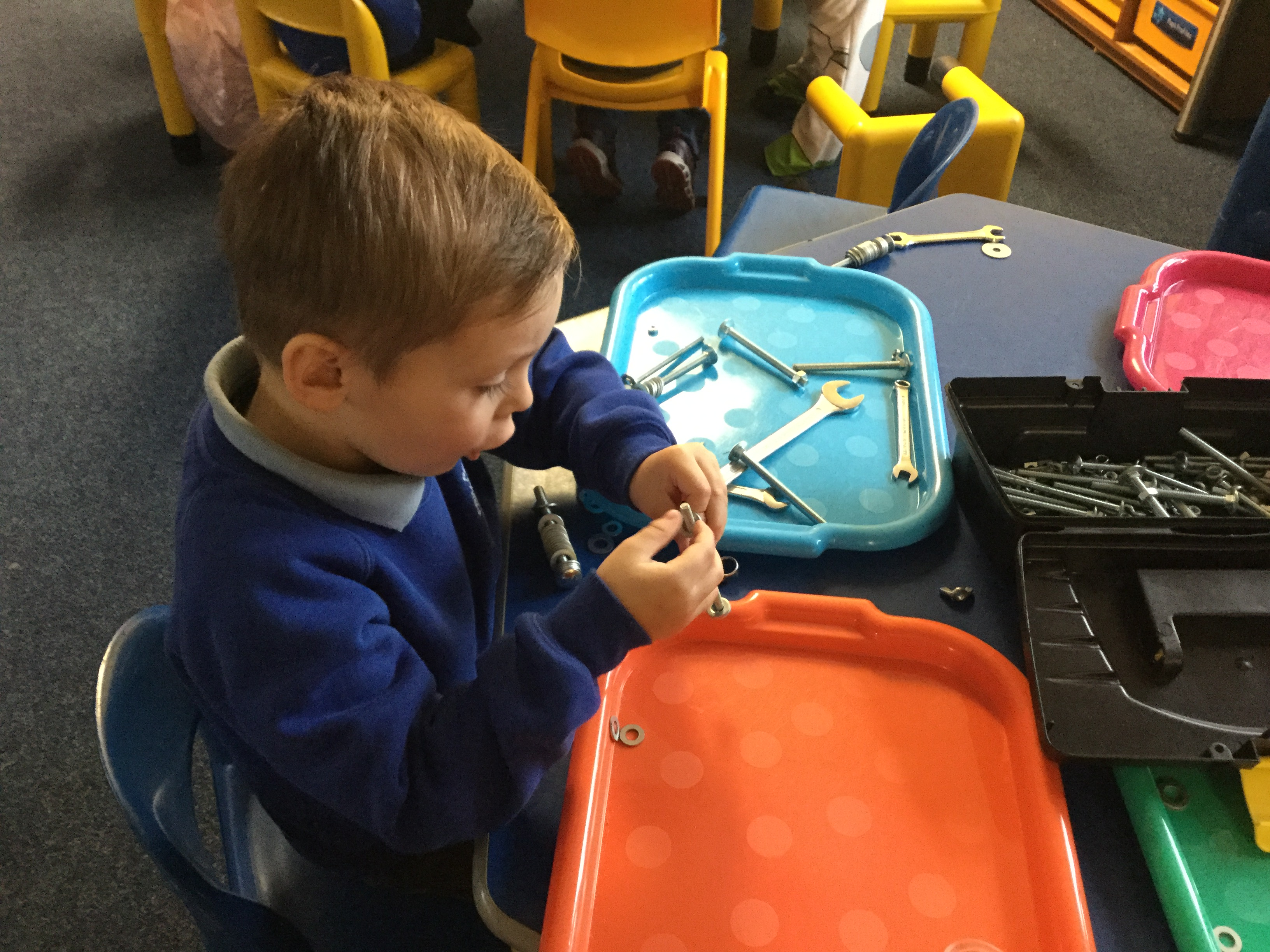 Another Fun Morning In Nursery.