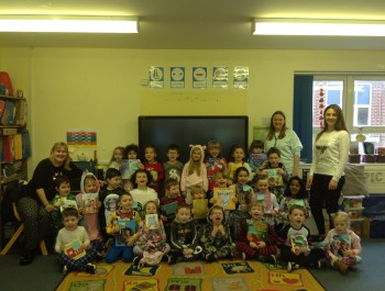 Year 1 celebrate World Book Day