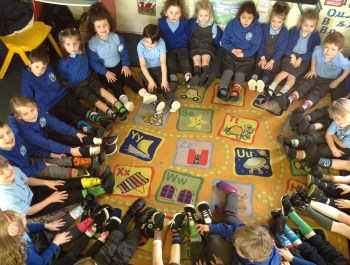 Year 1 rock odd socks day!