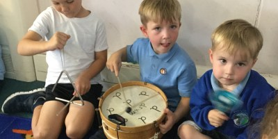 Music Time In Reception