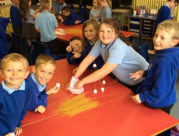 Marshmallow and Spaghetti Towers in Year 3