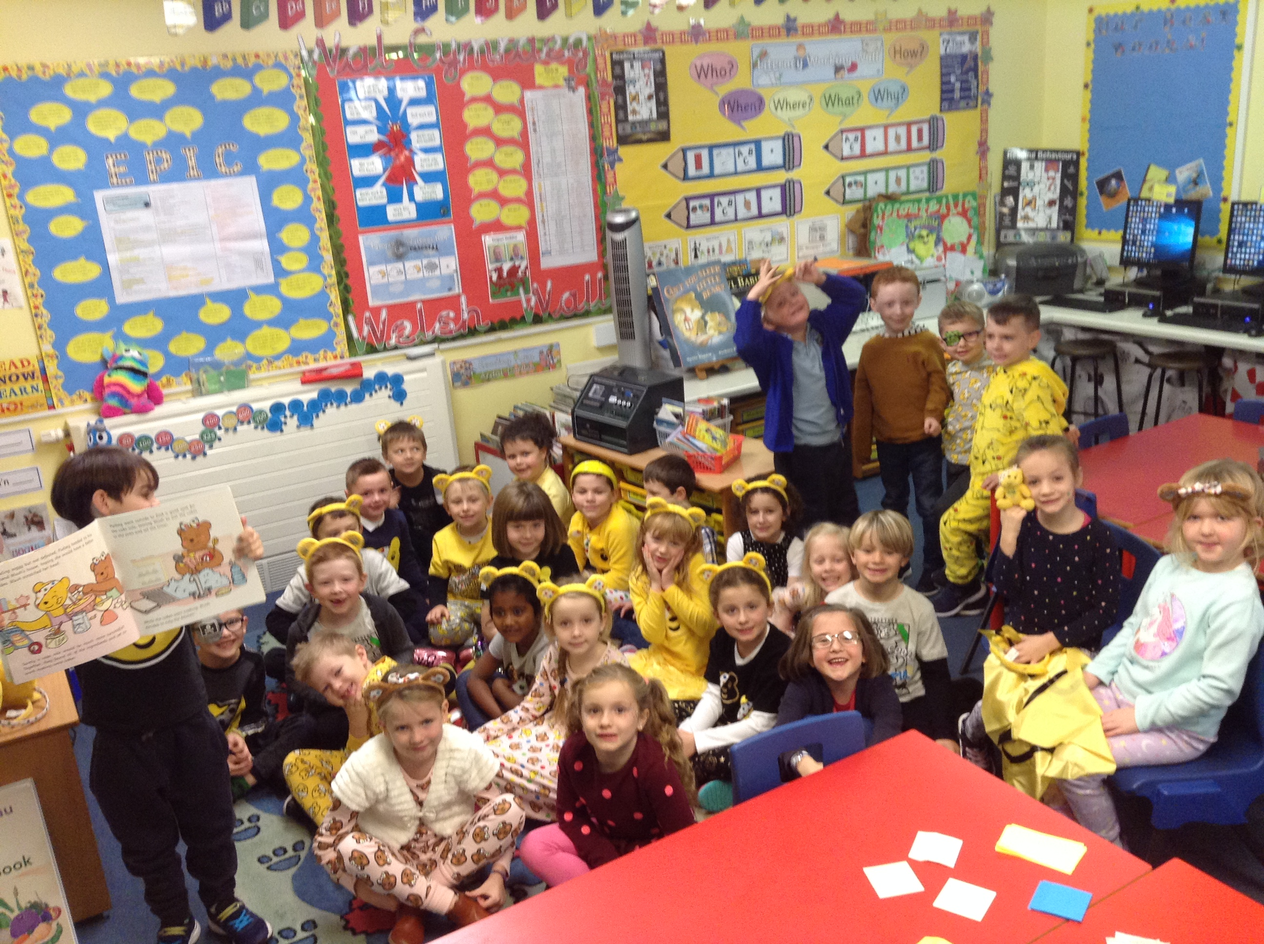 Children in Need in Year 2