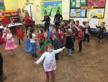 Nursery's Christmas Party.