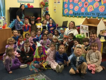 Celebrating World Book Day In Nursery