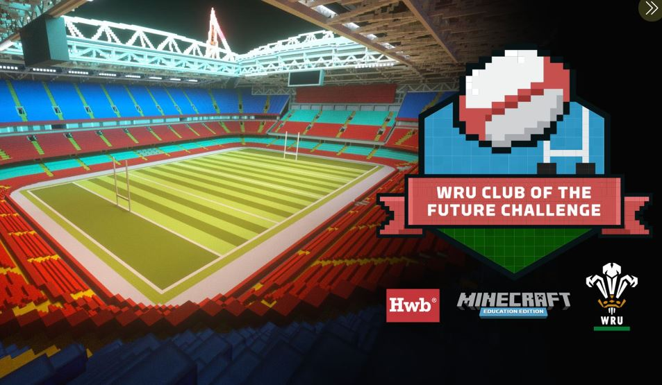 "WRU Minecraft ""Club of the future Competition"" 🏉"