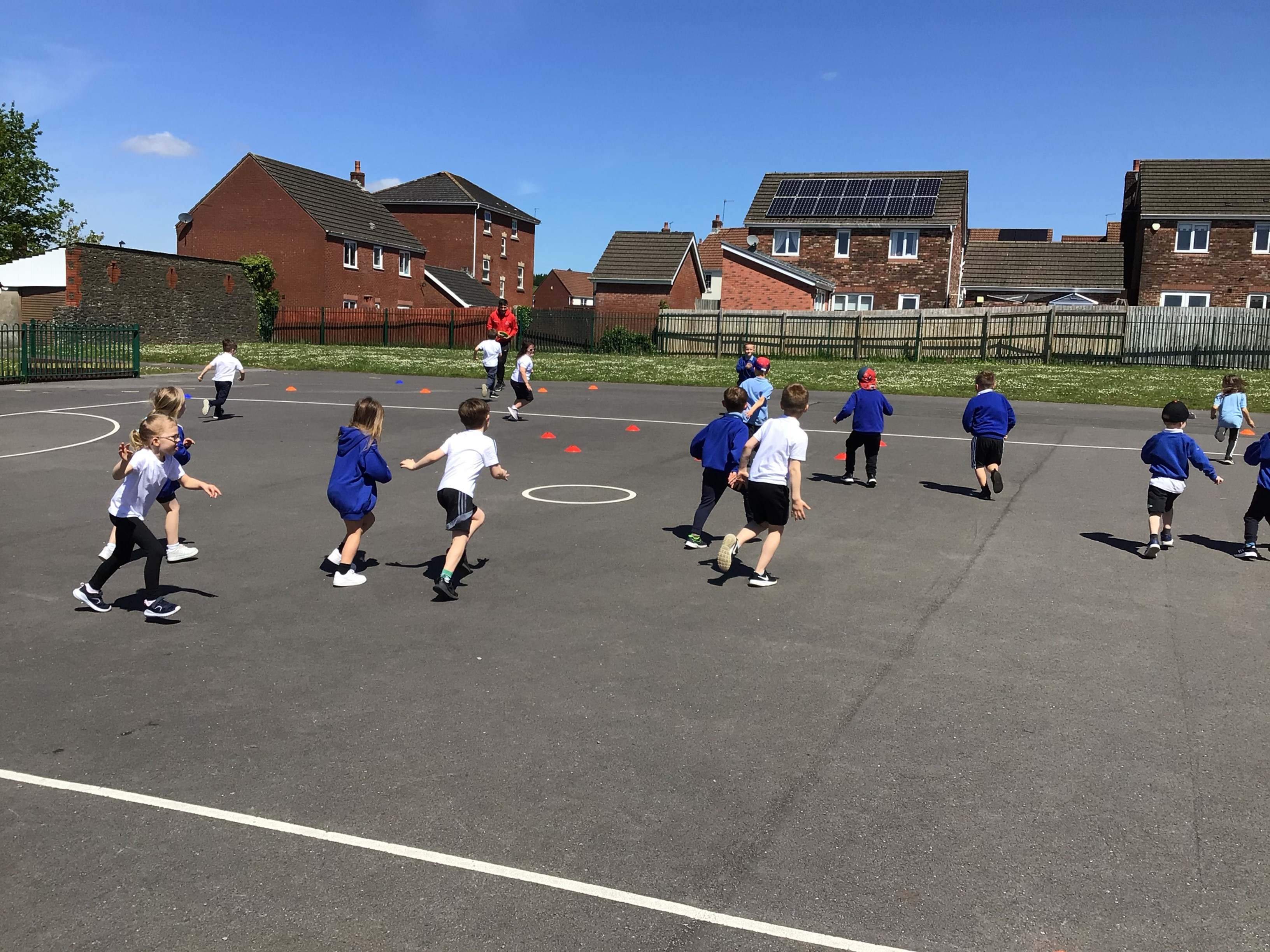 Year 1 Sports Session!