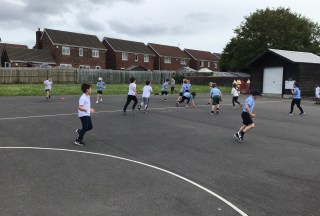 Year 2 Sports Session
