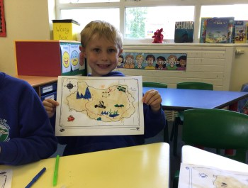 Marvellous Map Work in Year 1!