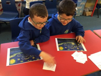 Year 2 Learning about Van Gogh