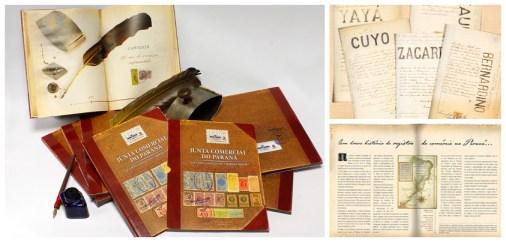 Livro 120 Anos JUCEPAR - Medalha de Ouro