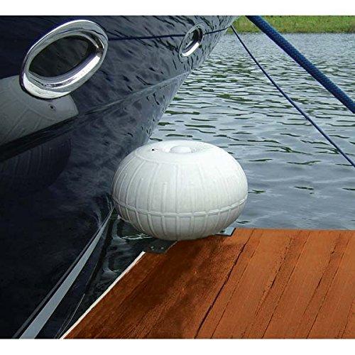 "Sea Dog 040106-1 Open Base Galvanized Cast Iron Dock Cleat 6/"""