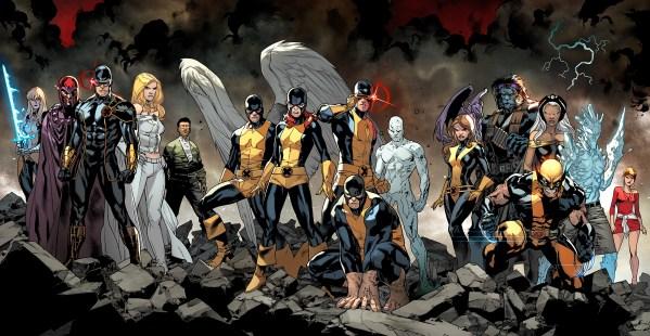 Entre as novidades, temos o time original dos X-men vindos diretamente do passado